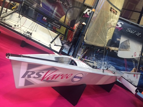 RS Vareo at 2016 Dinghy Show